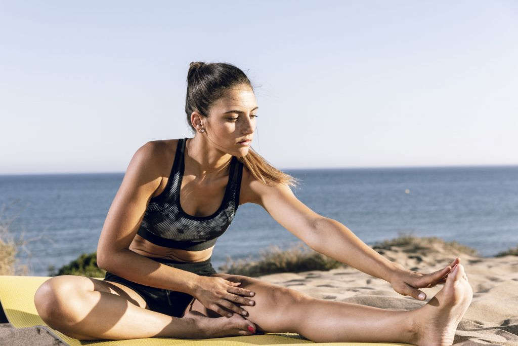 exercitiile pe plaja